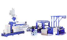 Machine de fabrication de film gaufré PE / PP