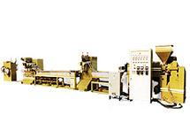 Machine de fabrication de bandes de cerclage en PP