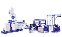 Casting PE / PP Embossed Film Making Machine