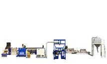 Wascheinheit für PE / PP-Kunststofffolien