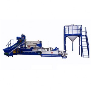 Water Cooled Plastic Waste Recycling Machine YDN-V65