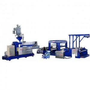 Gjutning PE / PP-präglad filmtillverkningsmaskin CPE 100T1300
