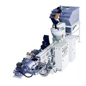 Vattenkyld plaståtervinningsmaskin