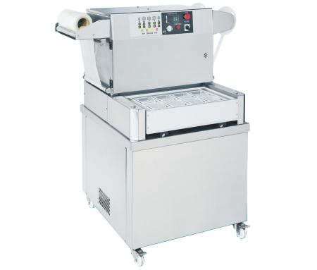Semiautomatic Tray Sealer with Vacuum and Gas Flushing