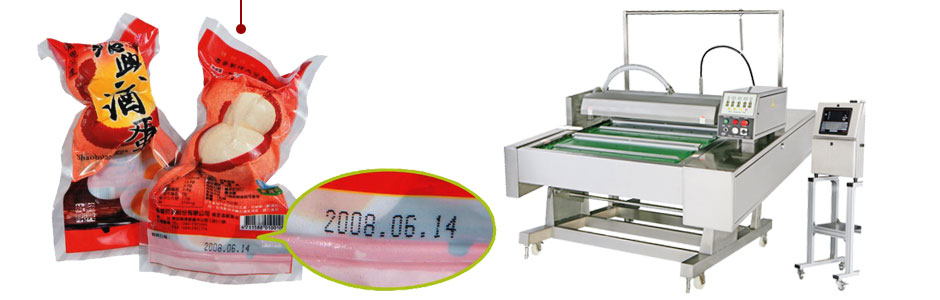 J-V021P continuous belt vacuum packaging machine