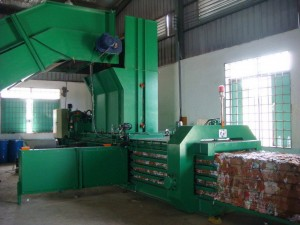 Automatic Horizontal Baling Press Machine TB-091140
