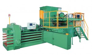 Automatic Horizontal Baling Press Machine TB-091180