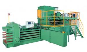 Automatic Horizontal Baling Press Machine TB-091180