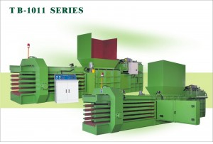 Automatische horizontale balenpersmachine TB-1011H0