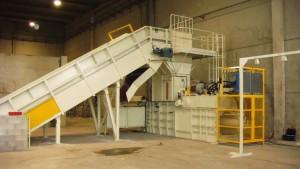 Automatic Horizontal Baling Press Machine TB-1011H2