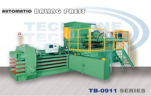 Automatic Horizontal Baling Press Machine - TB-0911 Series