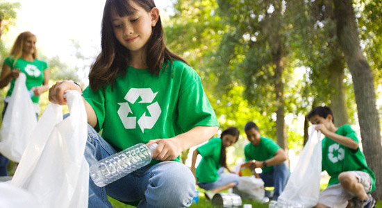 Recycling - pet bottles