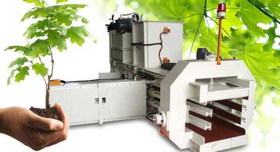 Techgene Machinery - Horizontal baler TB-0505