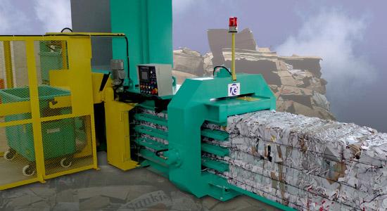 Techgene Machinery Co. 3-in-1 paper recycling baler TB-070820