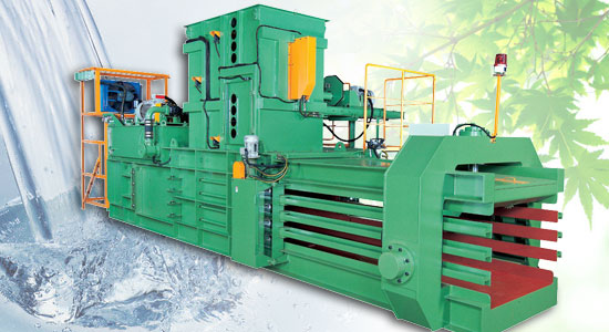 Automatic baling press TB-0911 series