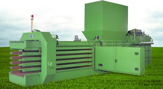 Automatic baling press TB-1011 series