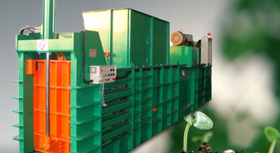 Automatic recycling baler TCB-1108 series
