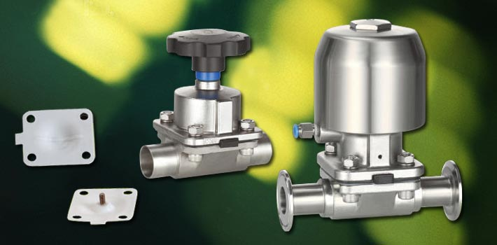 Diaphragm Valve and stainless steel vacuum components