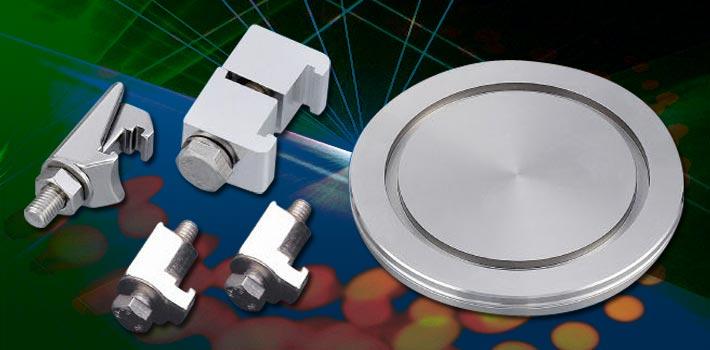 ISO atloku sērija un nerūsējošā tērauda vakuuma komponenti