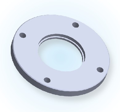 ISO Bored Blank Bolted Flange