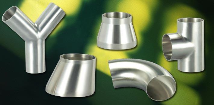 Tee / Reducer / Cross / Bend dan komponen vakum stainless steel