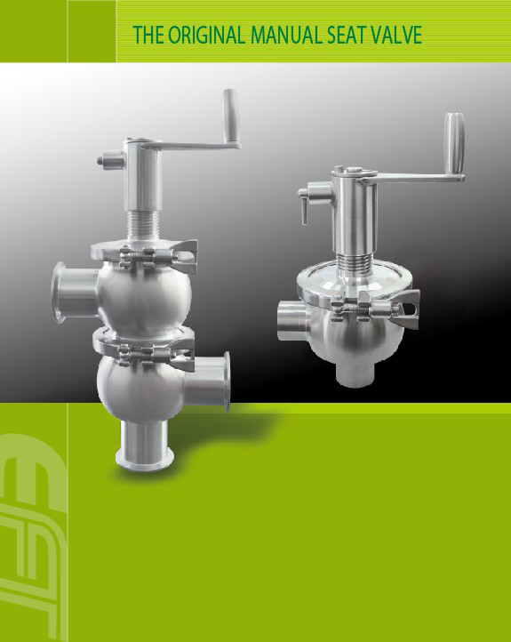 The Original Manual Seat Valve and vacuum component supplier for processing equipment solutions