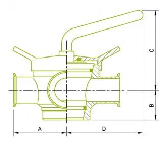 3 cestné uzatváracie ventily 3 cestné uzatváracie ventily