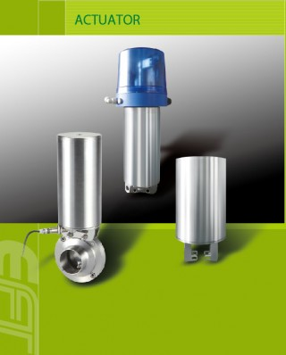 Pemasok komponen aktuator dan vakum untuk solusi peralatan pemrosesan