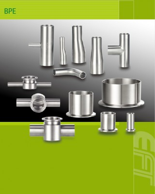 Fornecedor de componentes de vácuo e BPE para soluções de equipamentos de processamento