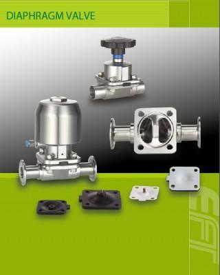 Diafragmas vārstu un vakuuma komponentu piegādātājs iekārtu risinājumu apstrādei