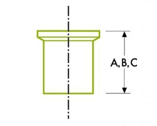 Automātiskā cauruļu metināšana: uzmava DT22
