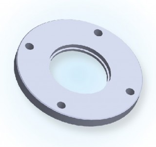 ISO Bored Blank Bolted Flange ISO