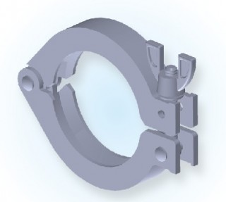 KF Single Pin Clamp(Al) KF