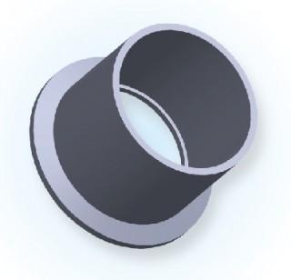 NW garās metināšanas caurules atloks (Jis tips) NW50
