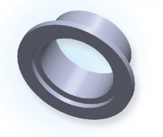 NW īsās metināšanas caurules atloks (Jis tips) NW10 ~ 40