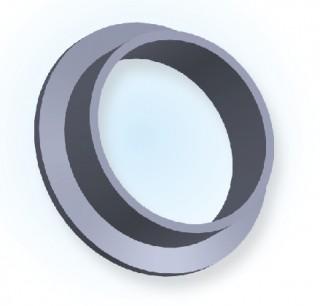 NW īsās metināšanas caurules atloks (Jis tips) NW63