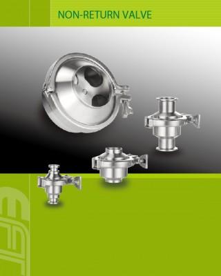 Зваротны клапан і вакуумная кампанента пастаўшчык для апрацоўкі раствораў абсталявання