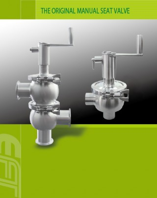Oriģinālais manuālais sēdekļa vārsts un vakuuma komponentu piegādātājs apstrādes iekārtu risinājumiem