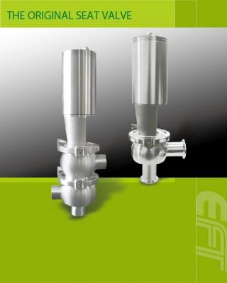 Oriģinālais sēdekļa vārsts un vakuuma komponentu piegādātājs iekārtu risinājumu apstrādei