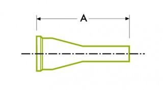 Higiēnisks skavas savienojums: cauruļu metināšanas koncentriskais reduktors / ekscentriskais reduktors DT26