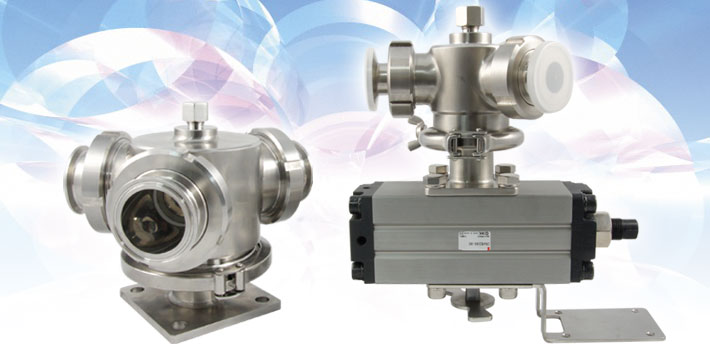 Multiport stainless steel valves