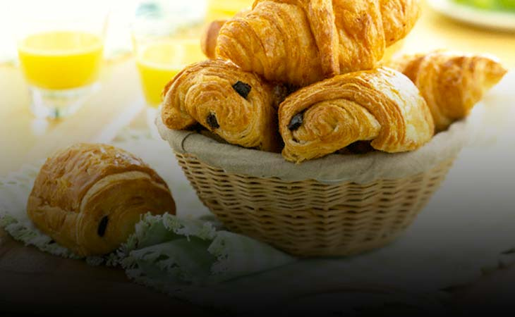 Croissant, Puff Pečivo