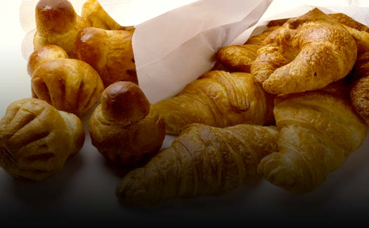 Croissant, Ciasto Francuskie