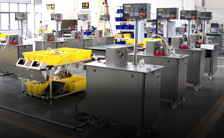 ANKO's food machine testing room