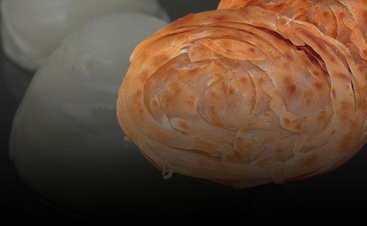 Bánh mì tròn Paratha , paratha