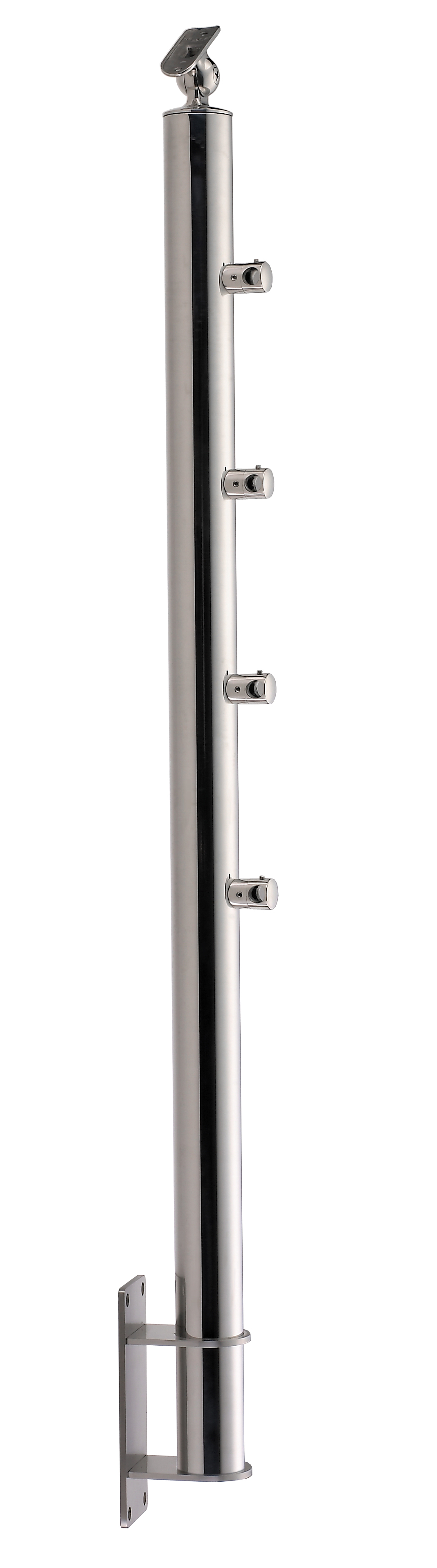 Stainless Steel Balustrade Posts - Tubular - SS:2020459A
