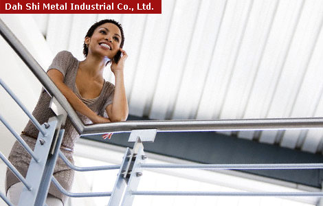 Making your inquire for stair handrail fittings, railing accessories, matel railing