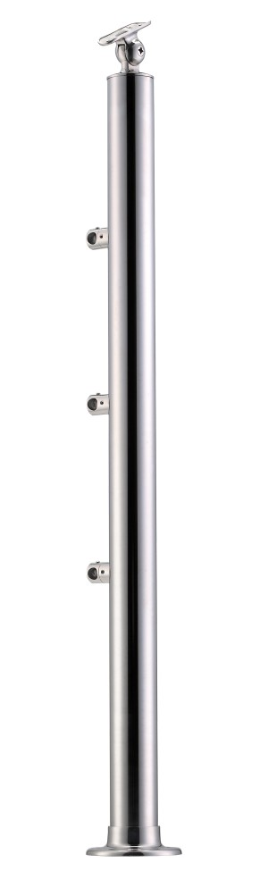 Stainless Steel Balustrade Posts - Tubular SS:2020356A