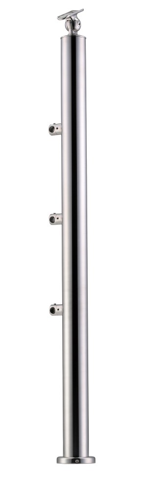 Stainless Steel Balustrade Posts - Tubular SS:2020358A