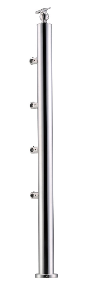 Stainless Steel Balustrade Posts - Tubular SS:2020458A